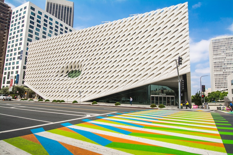 LOS ANGELES COUNTY MUSEUM OF ART & BROAD CONTEMPORARY ART MUSEUM LOS ANGELES